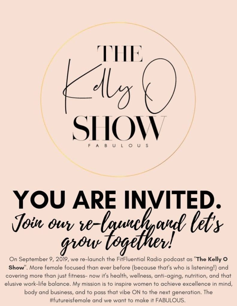The Kelly O Show Launch