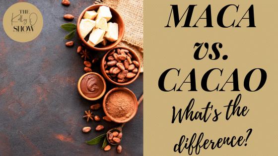 MACA VS CACAO