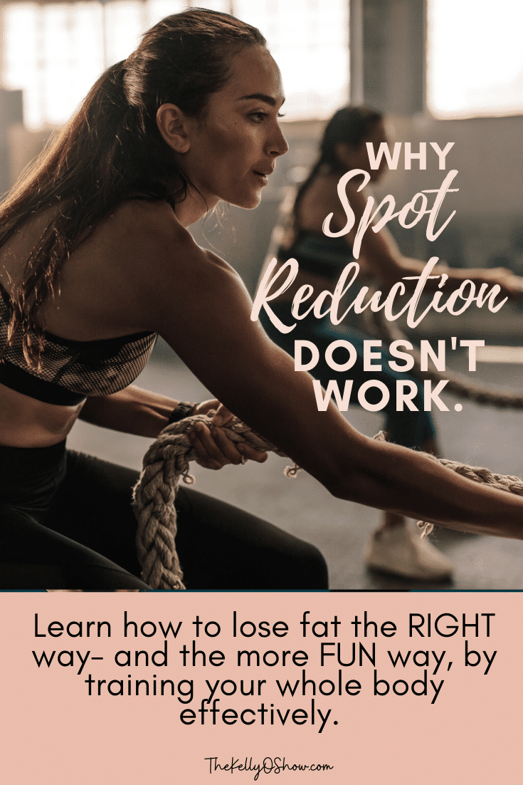 Why Spot Reduction Doesn't Work, and How to Lose Fat the RIGHT Way.