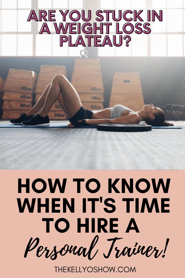 Como saber quando é hora de contratar um personal trainer ou nutricionista, parte um.  ~ KellyOlexa.com 2