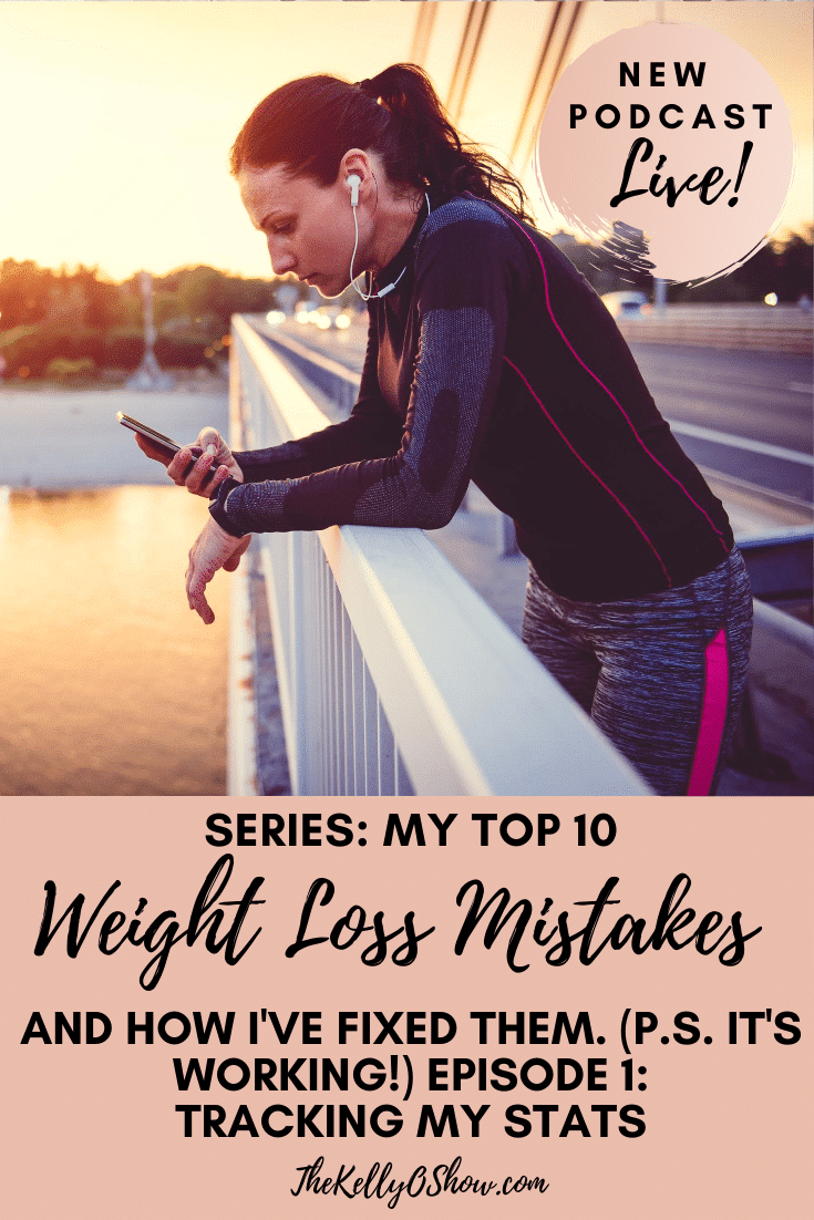 Meus 10 maiores erros de perda de peso e como eu os corrigi.  Erro nº 1: rastreamento. 2