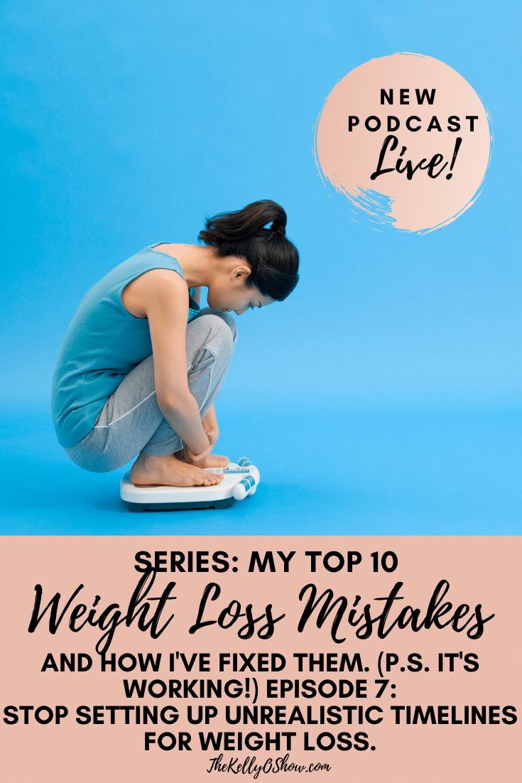 Meus 10 principais problemas de condicionamento físico e perda de peso e como os estou corrigindo: Por que precisamos definir CRONOGRAMAS mais realistas para perda de peso. 2