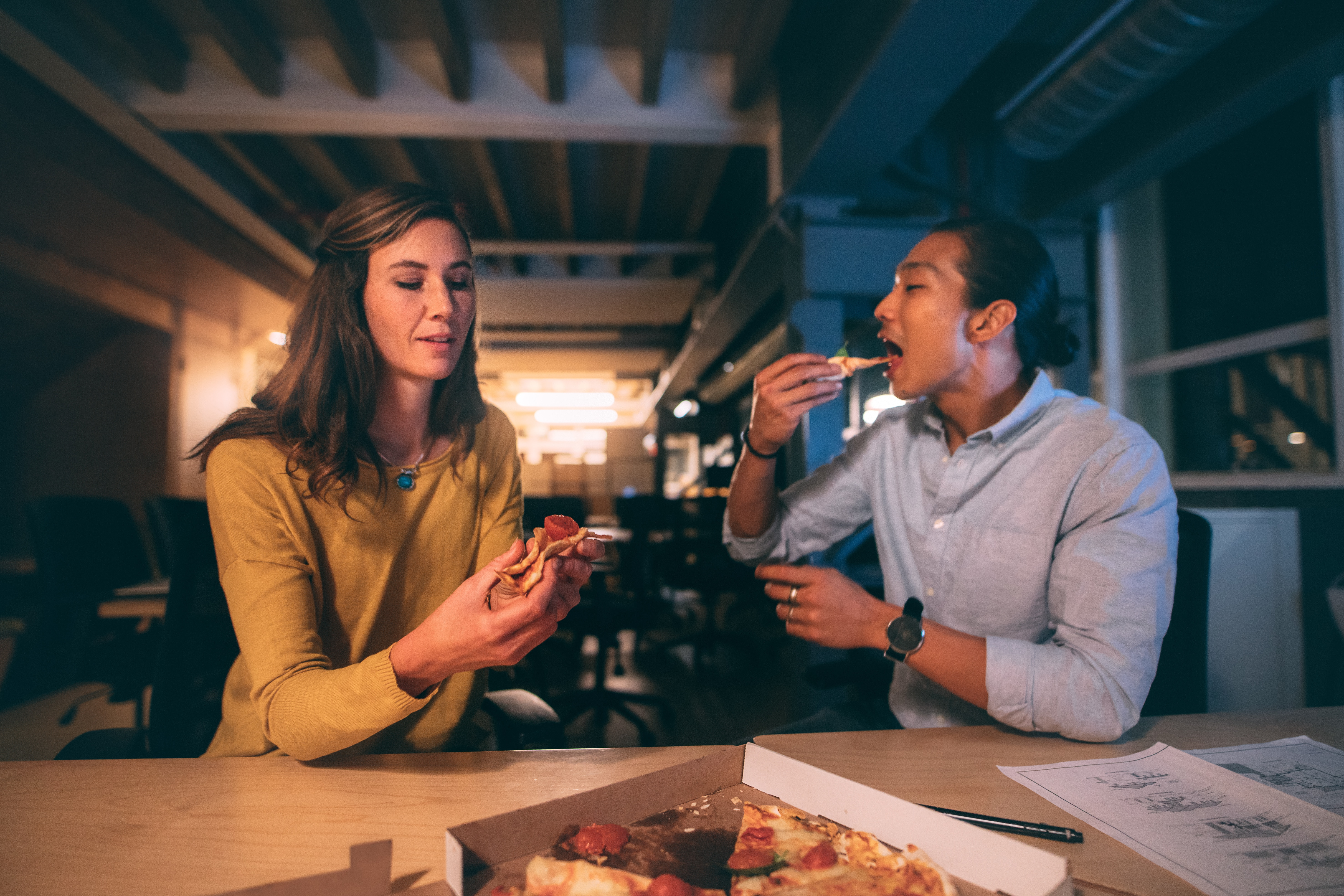 how to stop snacking after dinner